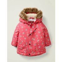 3-in-1 Cosy Jacket Pink Girls Boden, Multicouloured