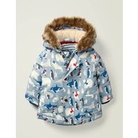 3-in-1  Padded Jacket Blue Baby Boden, Blue