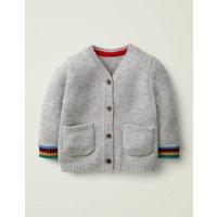 Cashmere Cardigan Grey Baby Boden, Grey