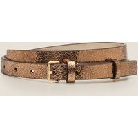 Skinny Buckle Belt Gold Women Boden, Gold