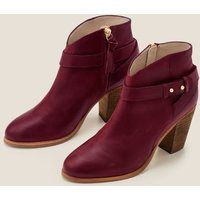 Boden Stratford Ankle Boots Purple Women Boden, Purple
