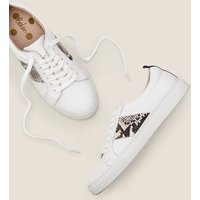 Classic Trainers Natural Women Boden, White