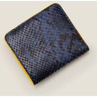 Boden Leather Mini Zip Purse Navy Women Boden, Navy