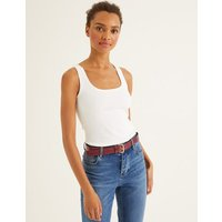 Essential Vest White Women Boden, White
