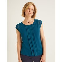 Dakota Jersey Top Blue Women Boden, Blue