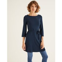 Amy Jersey Tunic Navy