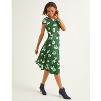 Aida Ponte Dress Green