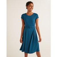Aida Ponte Dress Blue