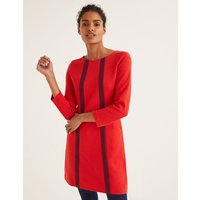 Anita Ottoman Tunic Red Women Boden, Navy