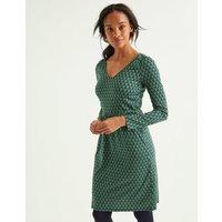 Romilly Jersey Dress Green Women Boden, Green