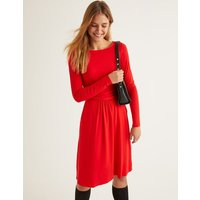 Abigail Jersey Dress Red