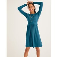 Abigail Jersey Dress Blue