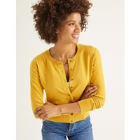 Amelia Crew Cardigan Yellow