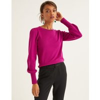 Antonia Jumper Purple Women Boden, Purple
