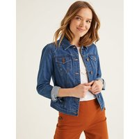 Classic Denim Jacket Denim Women Boden, Multicouloured