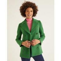 Seacole Pea Coat Green Women Boden, Green