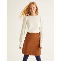 Imogen Mini Skirt Brown Women Boden, Brown