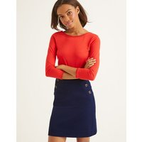 Imogen Mini Skirt Navy Women Boden, Navy
