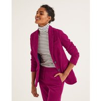 Smyth Cord Blazer Purple Women Boden, Purple