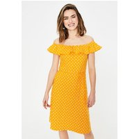 Bethany Jersey Dress Yellow Women Boden, Yellow