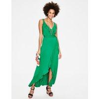 Nora Jersey Maxi Dress Green Women Boden, Green