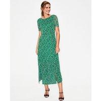 Jane Midi Dress Green Women Boden, Green