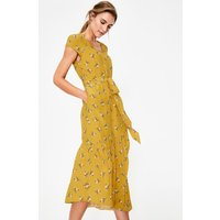 Amy Midi Dress Yellow