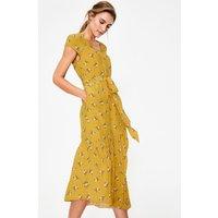 Amy Midi Dress Yellow Women Boden, Yellow