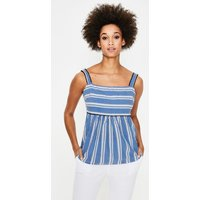 Agnes Top Blue Women Boden, Blue