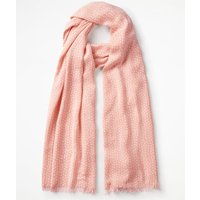 Printed Scarf Multi Women Boden, Ivory
