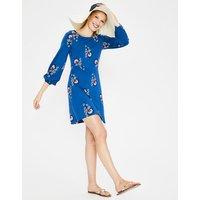 Lucie Jersey Tunic Blue Women Boden, Blue