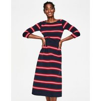 Alma Ottoman Midi Dress Navy Women Boden, Navy