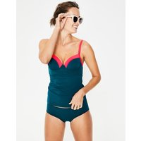 Milos Cup-size Tankini Top Oceanside Colourblock Women Boden, Oceanside Colourblock