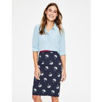 Modern Pencil Skirt Navy Women Boden, Blue
