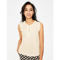 Peggy Top Ivory Women Boden, Ivory
