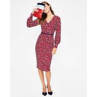 Hannah Dress Red Women Boden, Red