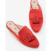 Katie Backless Loafers Red Women Boden, Red