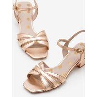 Nerissa Sandals Metallic Women Boden, Gold pink