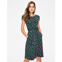 Amelie Jersey Dress Green