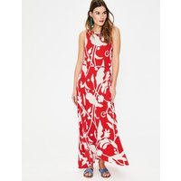Delphine Jersey Maxi Dress Red Women Boden, Red