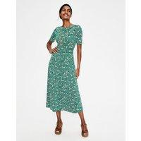 Ava Jersey Midi Dress Green