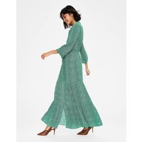 Viola Maxi Shirt Dress Green Women Boden, Green