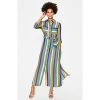 Katrina Maxi Shirt Dress Multi Women Boden, Multicouloured