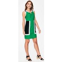 Anita Linen Dress Green Women Boden, Green