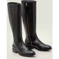 Allercombe Knee High Boots Black