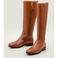 Allercombe Knee High Boots Brown