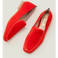 Rae Loafers Red Women Boden, Navy