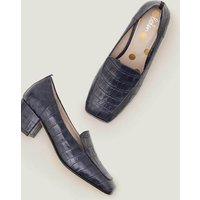 Carina Heeled Loafers Navy Women Boden, Navy