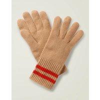 Cashmere Gloves Brown Women Boden, Camel