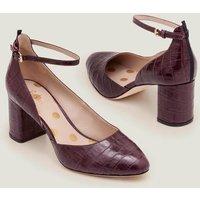 Yasmin Mid Heels Purple Women Boden, Purple